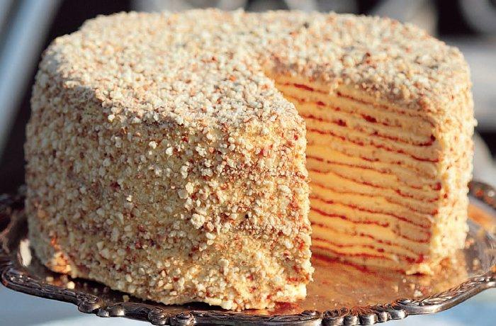 Открытый торт с малиной фото 1