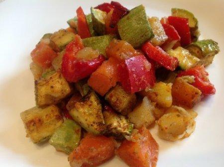 Рецепт Овощное рагу. Постное и вкусное.