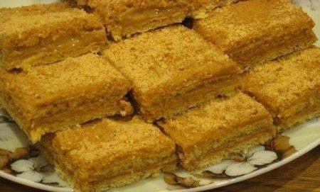 Рецепт Медово-апельсиновые пирожные со сгущенкой