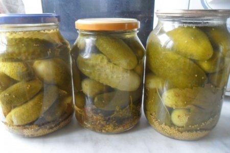 Рецепт Огурчики с горчицей