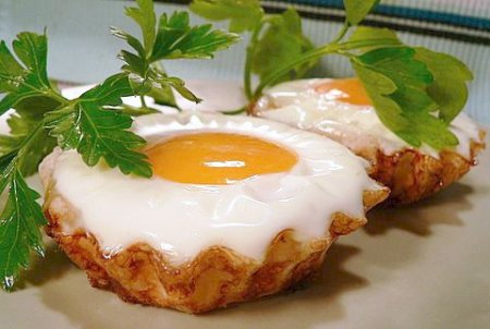Рецепт Яйца в тесте