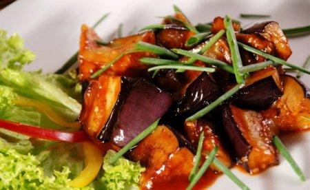 Рецепт Баклажаны в кисло-сладком соусе