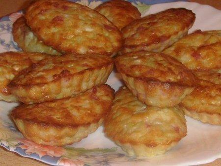 Рецепт Колбасно-капустные кексики