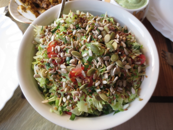 Салат из семян рецепт
