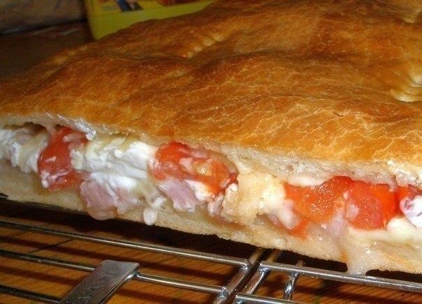 Тесто для закрытой пиццы