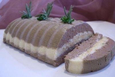 Рецепт Нежнейший печёночный паштет с сыром