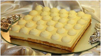 """Торт-десерт """"Лимонный тирамису"""""""
