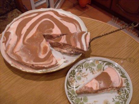 """Рецепт Творожный торт """"Трио"""""""