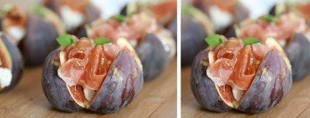 Рецепт Закуска из инжира с хамоном