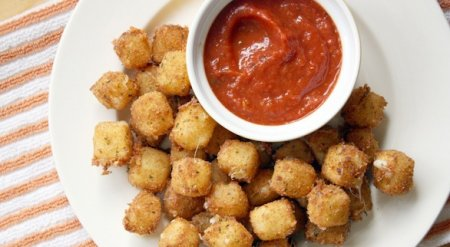 Рецепт Закуска - сырные кубики