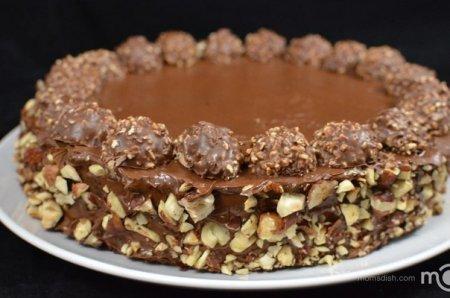 "Рецепт Вкуснейший торт ""FERRERO ROCHER"""