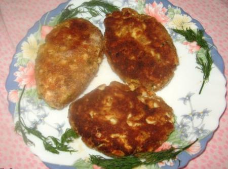 Рецепт Котлеты из яиц