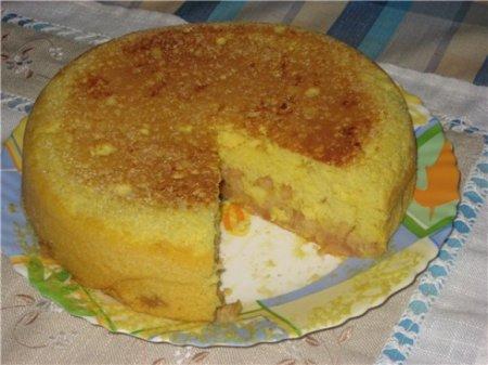 Рецепт Тыквенно-яблочный кекс в мультиварке