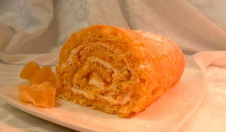 Рецепт Рулет с абрикосами