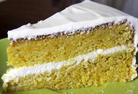 Рецепт Миндально-морковный торт в мультиварке