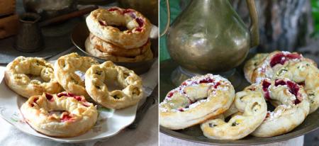 Рецепт Крымчакский калачик (бублик с начинкой)