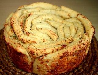 "Рецепт ""Обезьяний хлеб"" с чесноком"