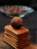 Шоколадные шарики из печенья