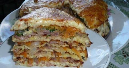 Рецепт Простой капустный торт