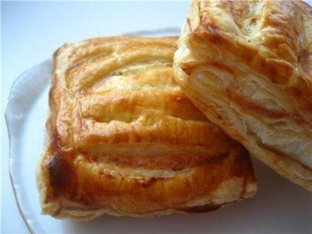 Рецепт Слоеное творожное тесто