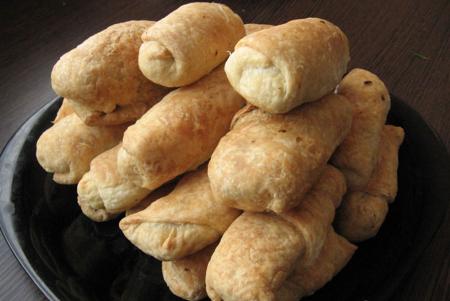 Рецепт Слойка с ореховой начинкой