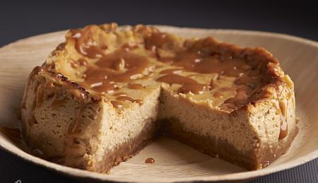 Рецепт Творожный торт с карамелью