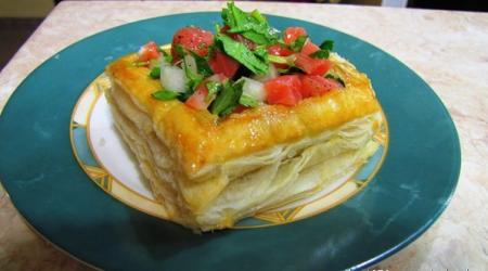 Рецепт Тарталетки с форелью или семгой