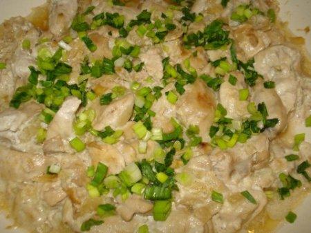 Рецепт Молоки лососевых рыб в сметанном соусе