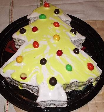 Рецепт Домашний торт с черносливом