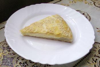 Рецепт Пирог сырный из творожного теста
