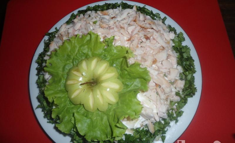 Для сайта Аура позитива: салат
