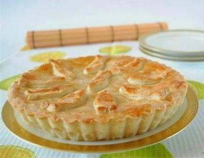 Рецепт Пирог с  плавленным сыром
