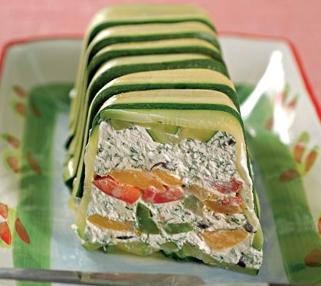 Рецепт Закусочный творожный паштет с овощами