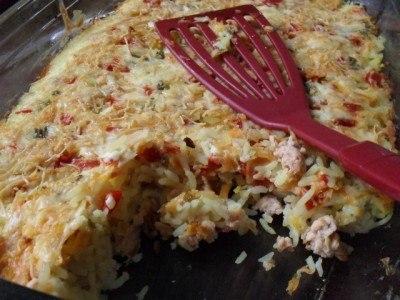 Рецепт Рыбная запеканка с рисом