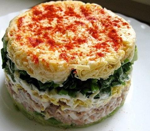 салат водолей рецепт
