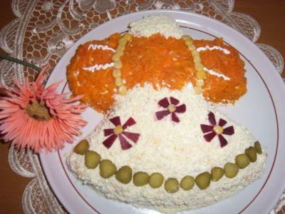 """Рецепт Салат """"Колокольчик"""""""