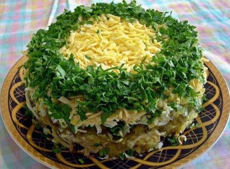 """Рецепт Салат """"Грибы под шубой"""""""