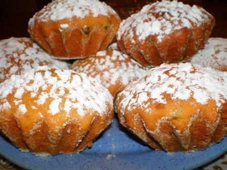 Рецепт Тыквенные кексы с медом