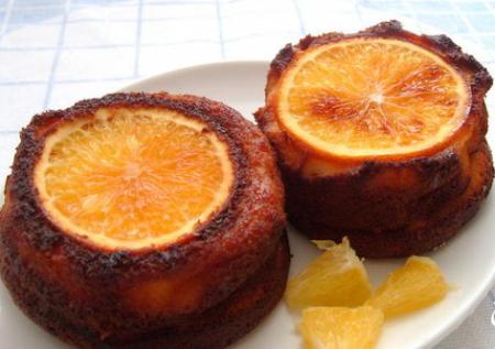 Рецепт Воздушный перевернутый чизкейк с апельсином и лимоном