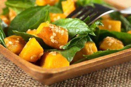 Рецепт Картофель с тыквой и сырным соусом