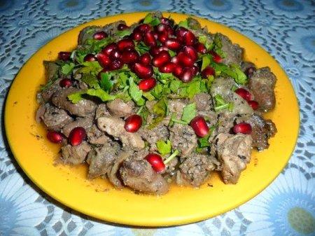 Рецепт Кучмачи горячие