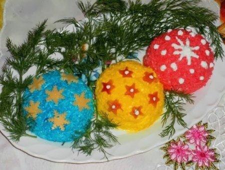 Рецепт Новогодний салатик