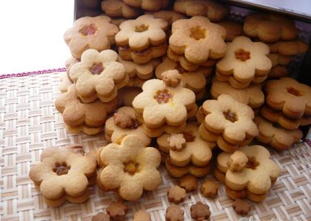 Рецепт Песочное печенье с конфитюром