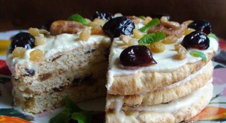 Рецепт Финиковый торт