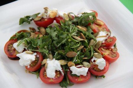 Рецепт Каринтийский деревенский салат с тыквенными семечками