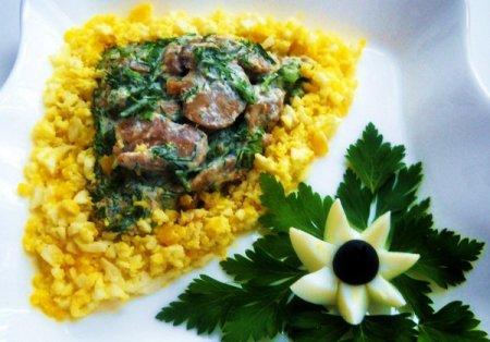 Рецепт Салат из грибов с хреном