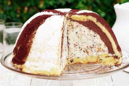 Рецепт Итальянский десерт зукотто