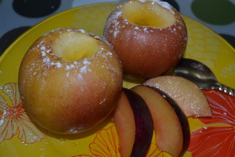 печеные яблоки в мультиварке поларис рецепты
