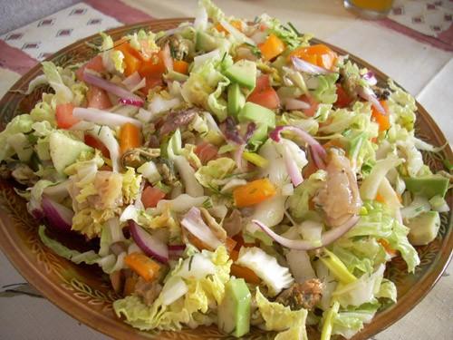 Салат из сельдерея и говядины