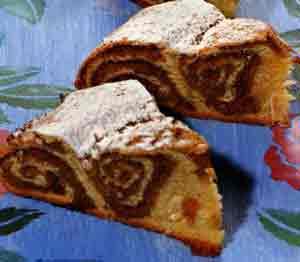 Рецепт Банница,  болгарский слоеный пирог с ореховой начинкой